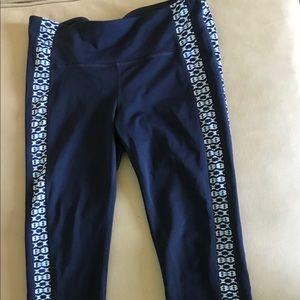 GAP Pants - Gap navy blue crop leggings